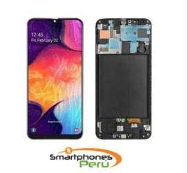 Cambia tu Pantalla Samsung A50 Garantia Tienda Smartphonesperu