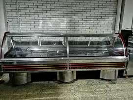 Góndola de refrigeración en acero