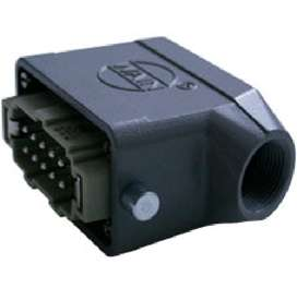 Conector industrial macho 10 polos 16A