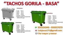 TACHOS GORILA PARA RESIDUOS EN GENERAL
