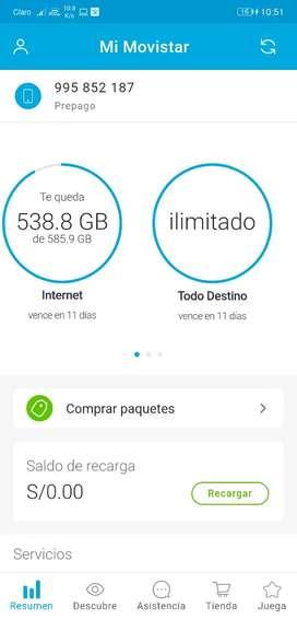 Internet ilimitado para movistar