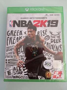 Juego físico Nuevo NBA 2K19 Xbox One