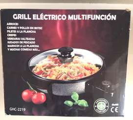 Grill electrico multifuncion