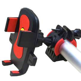 soporte para celular , gps ,etc para tripode , motocicleta , bicicleta , 360