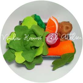 Frutas & Verduras 3d