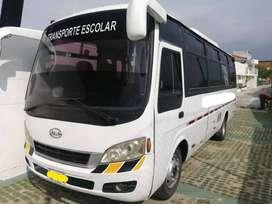 Buseta Servicio Especial Jac 2011