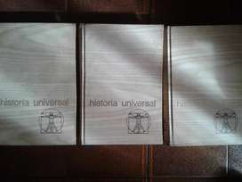 HISTORIA UNIVERSAL - A. MANFRED - 3 TOMOS