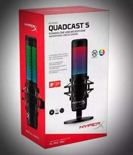 Micrófono HyperX Quadcast S RGB