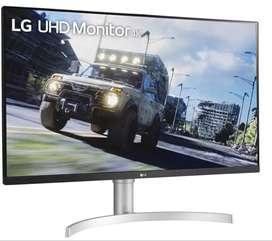 Monitor LG De 32 4k Uhd Altavoces Radeon Freesync 60hz