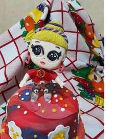 Muñeca De Porcelana Lol Para Cumpleaños- Nuevo