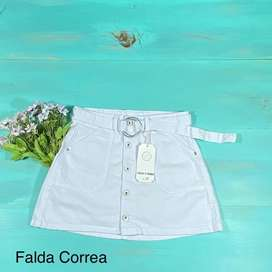 Faldas jean