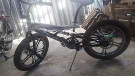 Vendo bicicleya BMX