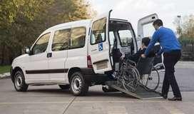 silla de ruedas vehiculo especializado transporte