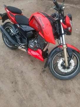Apache tvs motor 200 modelo india