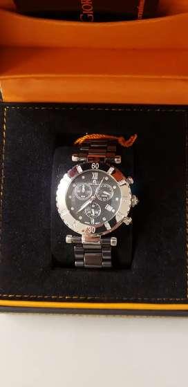 Reloj Giorgio Milano japones, nuevo con cristales Swarovski