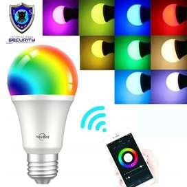 Domotica Foco LED WIFI RGB Tuya Smart JL04