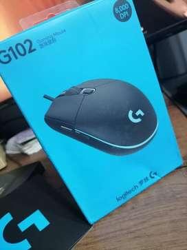 Mouse gamer logitech G102/G203