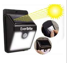 Gratis Envio Lampara Exterior Ever Brite Energia Solar Sensor Movimiento