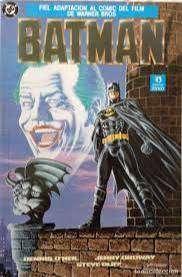 Revista Batman versión Original Película 1989