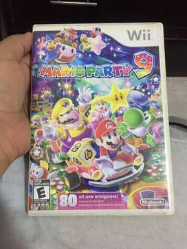 Mario Party 9 original para Nintendo wii