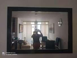Espejo con marco