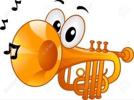 Clases de ukulele y trompeta básicas para niños.