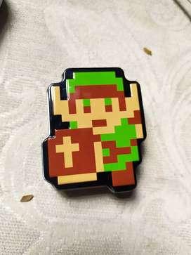 Cajita Metálica de Link 8bit (The leguen if Zelda)