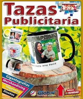 TAZAS PUBLICITARIA DESDE 5 SOLES POR CANTIDAD SOLO ESTE MES