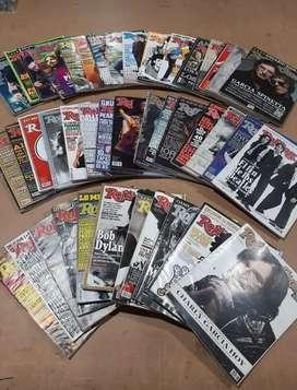 Revistas Rolling Stones - 5 anuarios 67 ediciones. Detalle en la descripcion