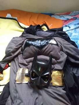 Disfraz de Batman con mascara