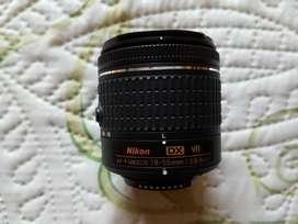 Objetivo Nikon Af-p Dx Nikkor 18-55mm F/3.5-5.6g Vr Lens