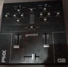 Consola Mixer 2 Canales