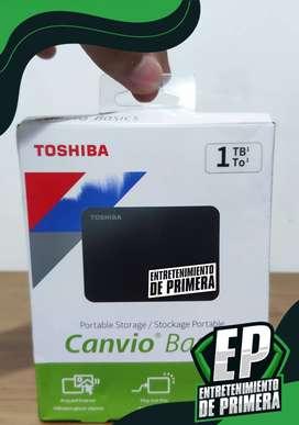 disco duro toshiba externo usb 3.0 1 tb