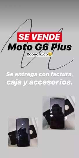 Vendo Motorola G6 plus Estado 10/10