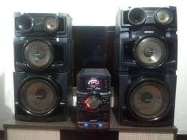 equuipo de sonido Sony GENEZI  MHC GNR88