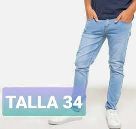 Remate!! Jeans Bearcliff Talla 32 y 34