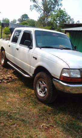 Vendo ford ranger  doble cabina con jaula verdulers