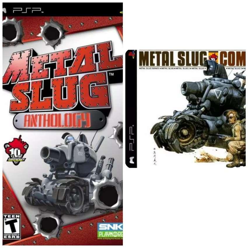 Metal slug colección completa PSP para android y pc 0