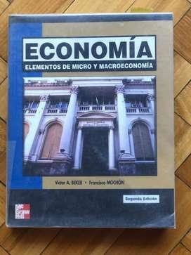 Economía Elementos de Micro y Macroeconomía - Beker Mochon