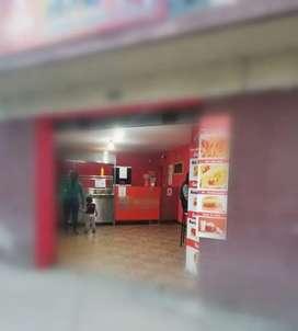 Vendo equipamiento para negocio de comida rápida