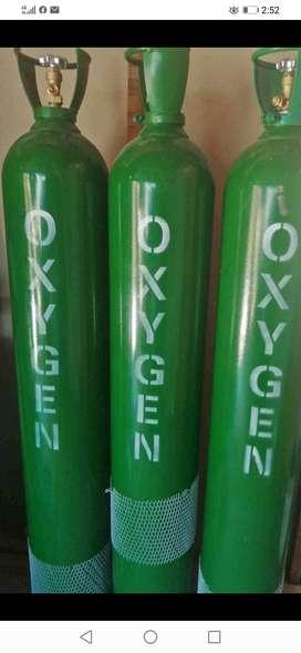 Balones de oxígeno de 10 m3
