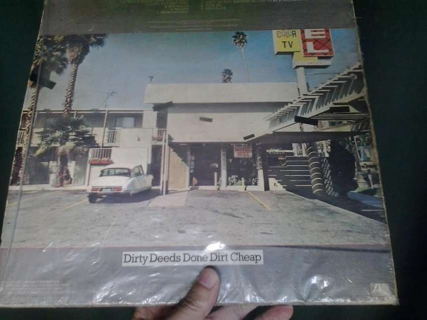 Lp Vinilo Ac/dc Dirty Deeds Done Dirt Cheap Printed Usa 1976 0