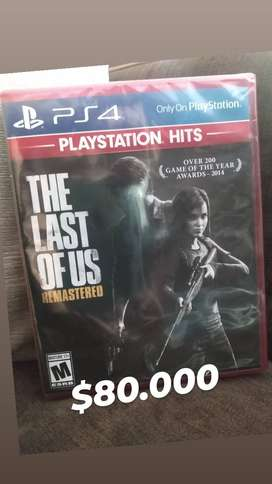 The Last of Us remastered ps4 - nuevo