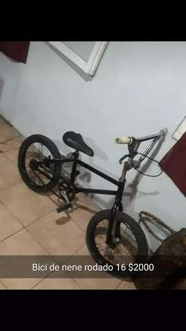 Bicicleta de nene rodado 16