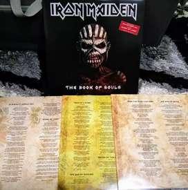 IRON MAIDEN - THE BOOK OF SOULS edición limitada 3 LP