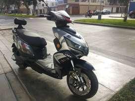 Moto Eléctrica - Scooter - Estilo: Camuflado