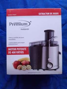 Extractor de jugo premium nuevo