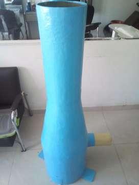 Ducto Para El Ahorro de  agua para cuartos de maquinas de pozos o pisinas