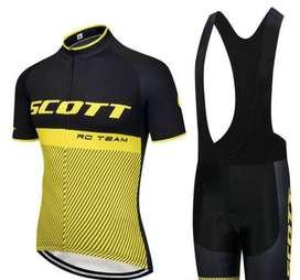 Uniforme De Ciclismo Scott Jersey Punto De Fabrica Bicicleta