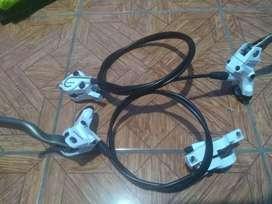 Frenos Shimano Deore LX Hidráulicos MTB XC Downhill DH Enduro FOX Trek